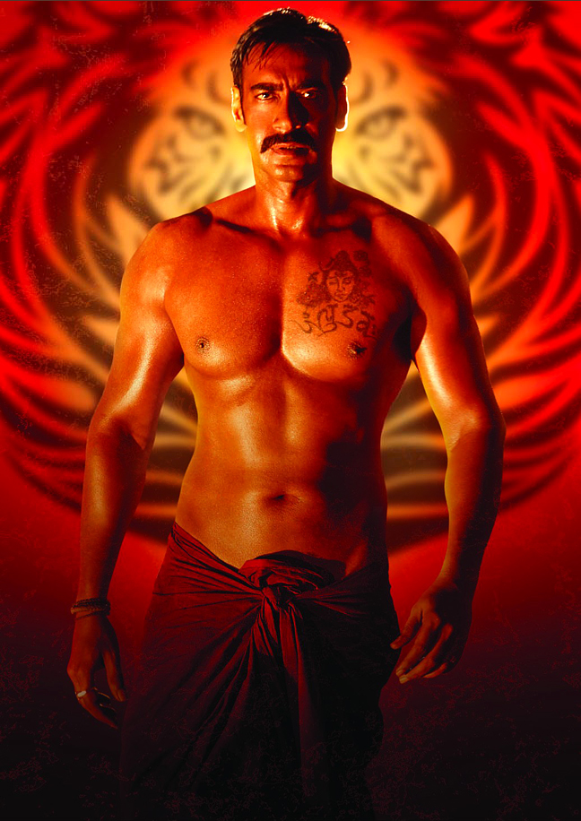 Ajay Devgan Barebody