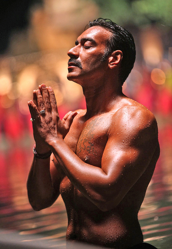Ajay Devgan Shirtless Body