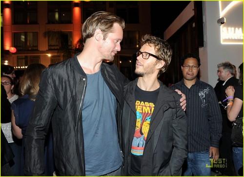 Alexander Skarsgard: Summit Comic-Con Party with Ryan Kwanten!