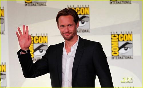 Alexander Skarsgard: 'True Blood' Panel at Comic Con!