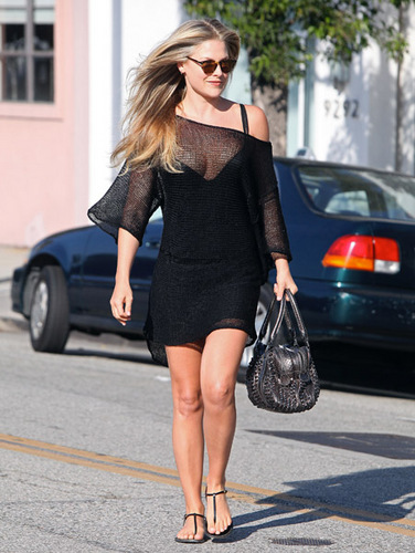 Ali Larter steps out of Byron and Tracey Salon - July 13