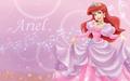 Ariel in berwarna merah muda, merah muda