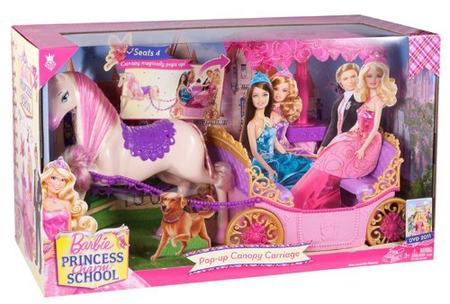barbie Princess Charm School - Carriage in the box