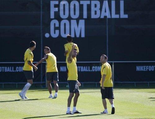 Barcelona Training (July 20, 2011)