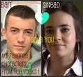 Bart &amp;&amp;' Sinead &lt;LoveThem&gt; ImadeThis Picture !! :) x - hollyoaks photo