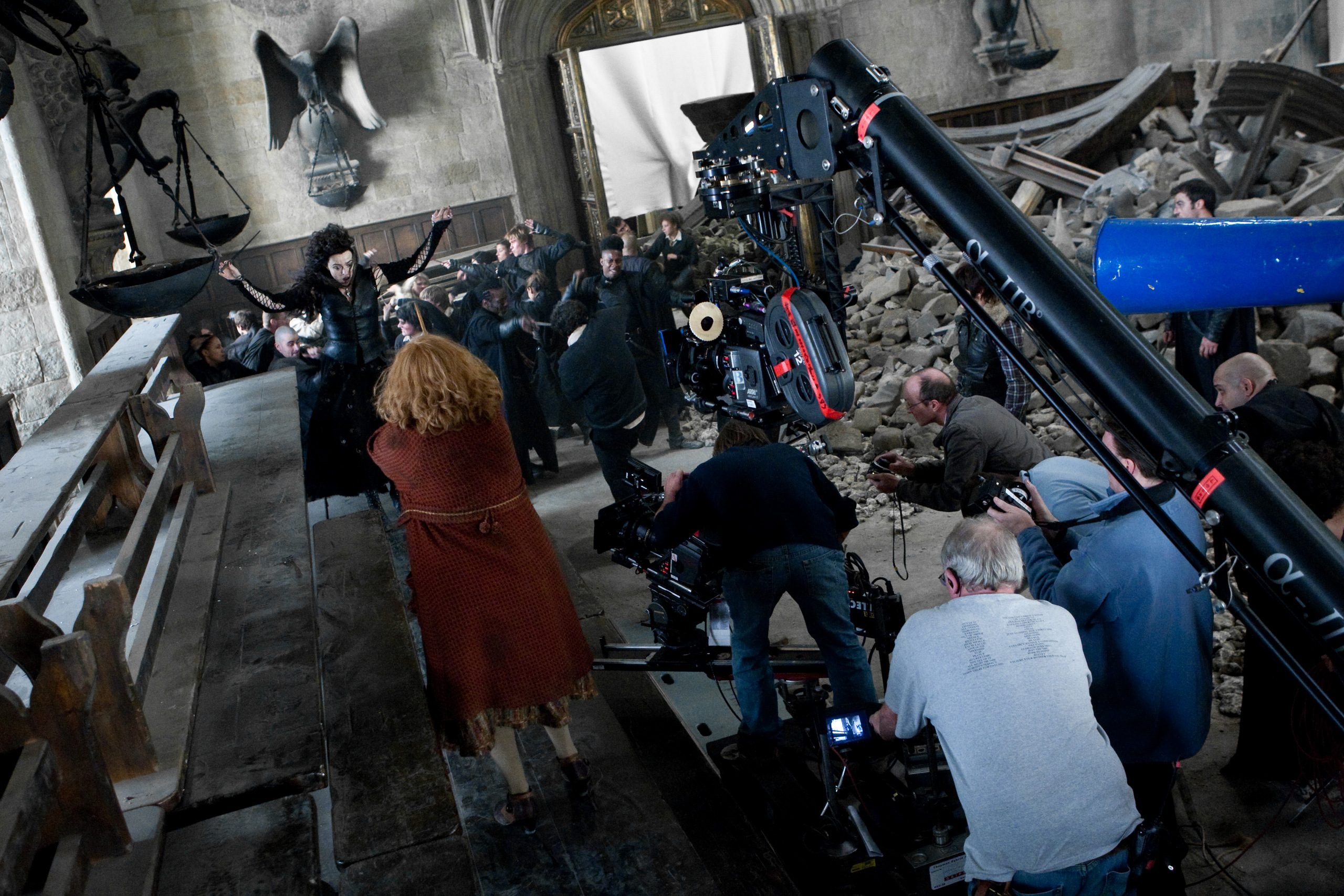 behind the scenes harry potter photo 23905735 fanpop