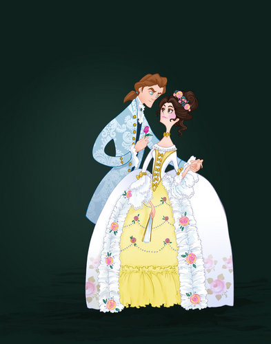 Belle and the Beast - Wedding