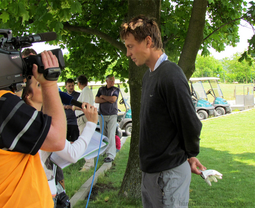 Berdych golf