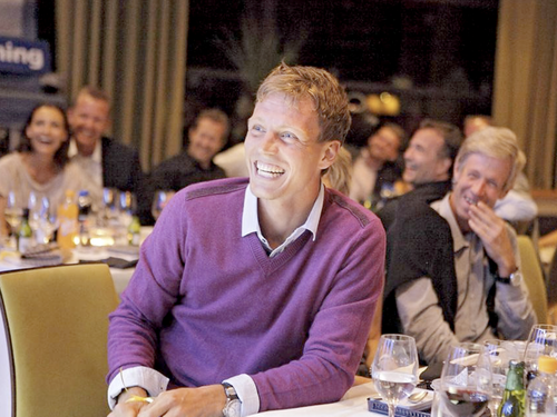 Berdych with father