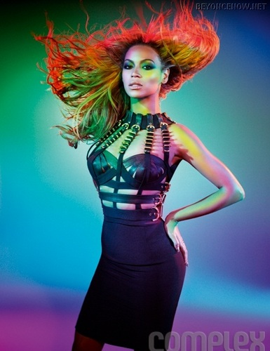 Beyoncé - Photoshoot, Complex - July 2011