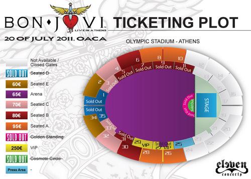 Bon Jovi Live in Athens - O.A.K.A. Stadium