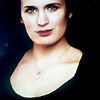 Elizabeth Reaser photo with a portrait titled Breaking Dawn.
