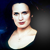 Elizabeth Reaser Foto with a portrait titled Breaking Dawn.