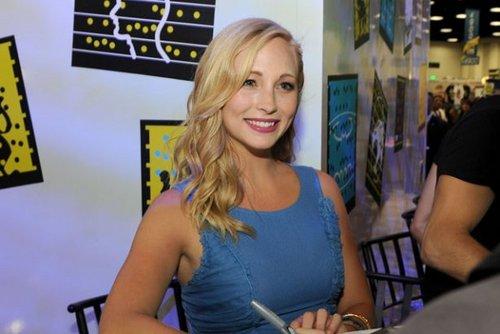 Candice at Comic-Con 2011