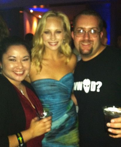 Candice at Comic Con