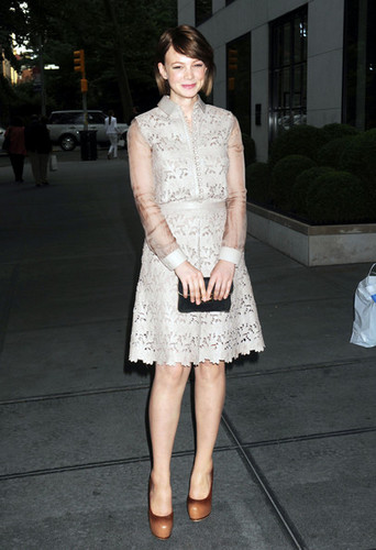 Carey Mulligan at the Lincoln Center Institute Junior Spring Benefit in New York