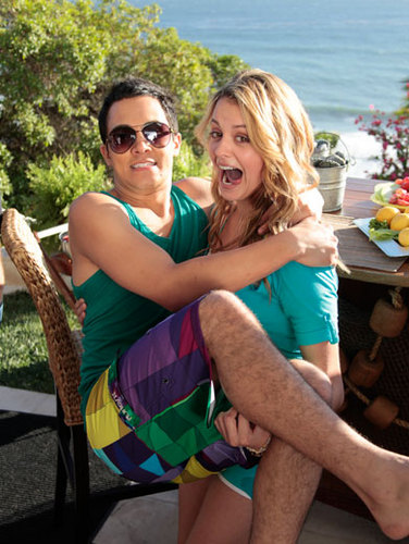 Carlos and Gage Golightly