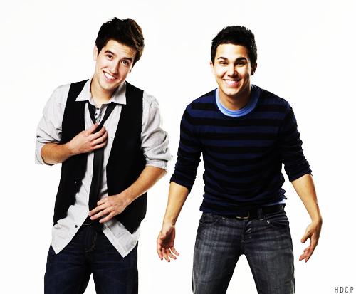 Carlos and Logan!