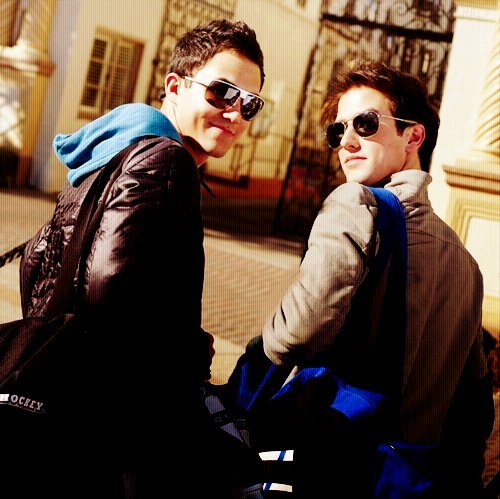 Carlos and Logan *swag*