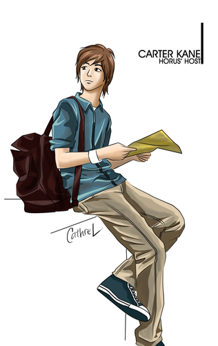 The Kane Chronicles 壁纸 possibly containing a hip boot, a well dressed person, and a pantleg, 裤裤 entitled Carter K-A-N-E