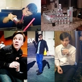 Chris & his Diet Coke<3