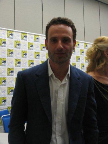 Comic-Con 2011 - Andrew lincoln