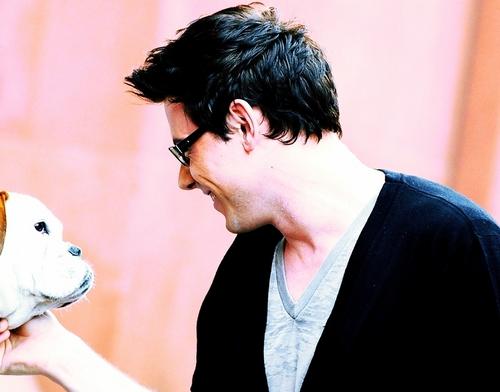 Cory's *puppy love* AWwww<3