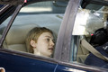 "Dakota Fanning reveals a new cropped hairdo as she films scenes for ""Now Is Good"" in London - dakota-fanning photo"