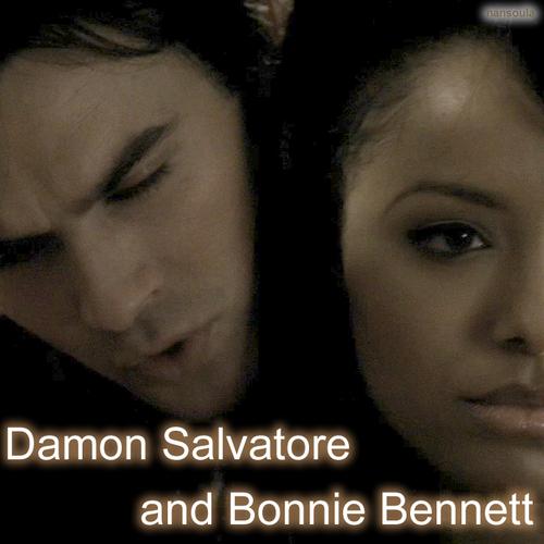 Damon Salvatore & Bonnie Bennett