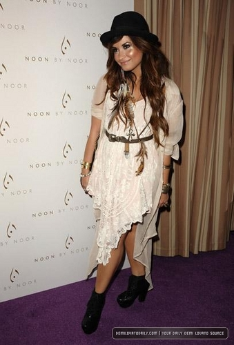 Demi - The Noon by Noor Launch Event - July 20, 2011