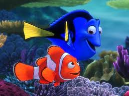 procurando nemo wallpaper entitled Dory & marlin, marlim