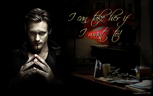 Alexander Skarsgård wallpaper probably containing a sign entitled Eric Northman