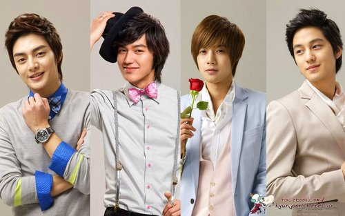 Kim Hyun Joong wallpaper entitled F4(Boys Before Flower)
