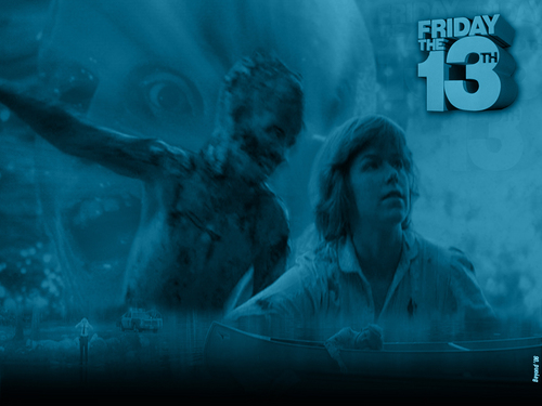 Horror Movies wallpaper possibly containing a fountain called Friday the 13th 1980