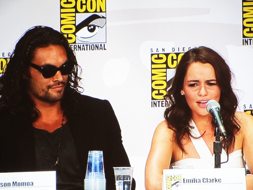 Game of Thrones cast at Comic-Con