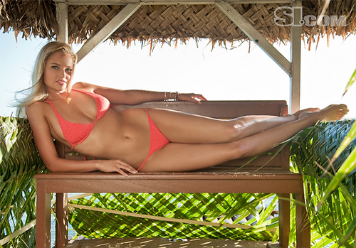 Genevieve Morton - swimsuit-si Photo