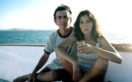 George Harrison wallpaper possibly with a bagnante and a hot tub entitled George and Olivia