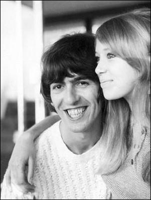 George Harrison wallpaper possibly containing a portrait called George and Pattie