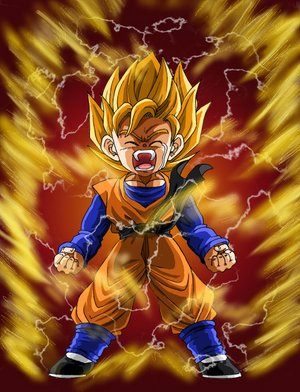 Goten Super Saiyan!!!! - zmidy313 Photo