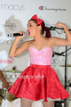 Grande peforms during Macy's  Annual Summer blowout show in New York, July 17 - ariana-grande-and-elizabeth-gillies photo