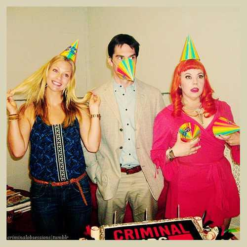 Criminal Minds achtergrond titled HAPPY B-DAY THOMAS :)♥