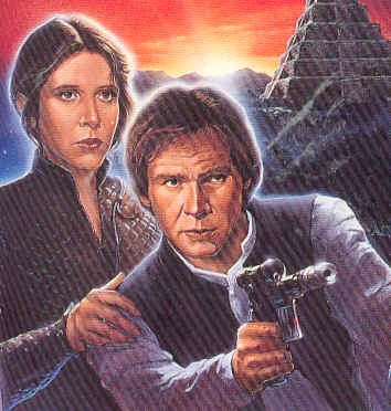 Han and Leia - leia-and-han-solo Fan Art