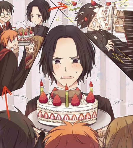 Harry Birthday Snape