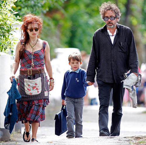 Helena with Billy and Tim - helena-bonham-carter Photo