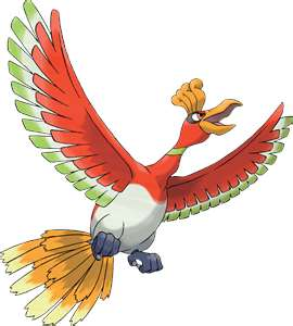 Legendary Pokemon [X,EX OR EXA] wolpeyper called Ho-oh