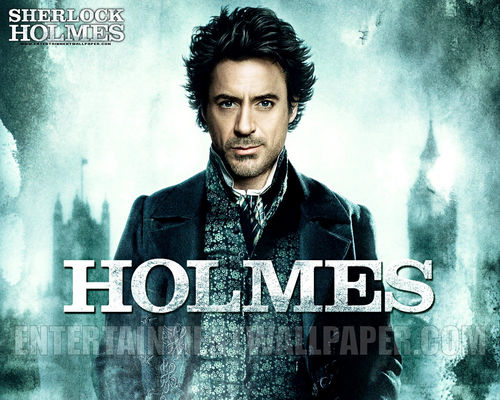 Sherlock Holmes (2009 Film) wallpaper with a portrait called Holmes