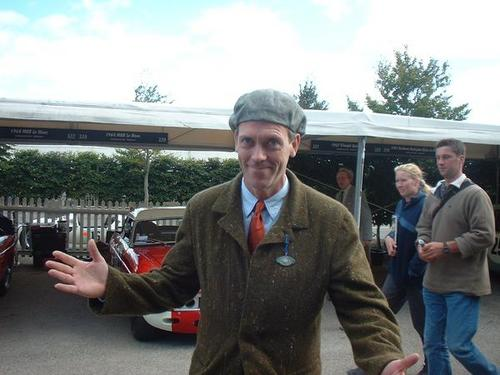 Hugh Laurie-the Goodwood Revival 2001