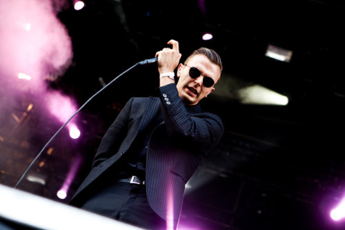 Hurts live at Hultsfred Festival, Sweden 16.07.2011