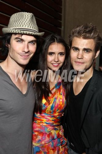 Ian, Nina & Paul @ Comic Con 2011.