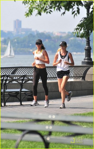 Irina Shayk: Focused on Her Fitness